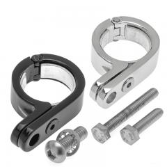 Kuryakyn Stainless Steel P-Clamp for Bar Mounts - Auxiliary Lights