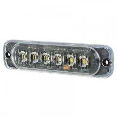 Low Profile Grille and Surface Mount LED Light Head -18W