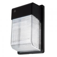28W LED Mini Wall Pack with Photocell - 2,100 Lumens - 70W Metal Halide Equivalent - 5000K/4000K