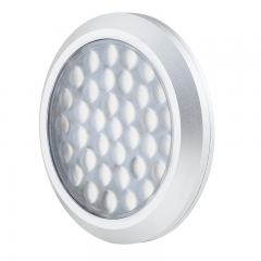 "2.8"" LED Puck Light - Plug-and-Play - 220 Lumens - Dimmable - 12V"