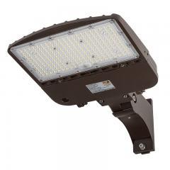 150W LED Parking Lot Light - Shoebox Area Light - 21000 Lumens - 320W MH Equivalent - 5000K - Pole/Post Adjustable Mount