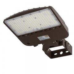 150W LED Parking Lot Light - Shoebox Area Light - 21000 Lumens - 320W MH Equivalent - 5000K - Trunnion Wall/Surface Mount