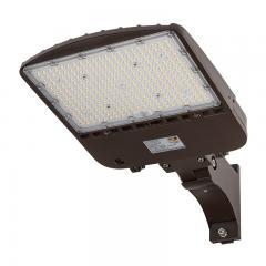 200W LED Parking Lot Light - Shoebox Area Light - 28000 Lumens - 400W MH Equivalent - 5000K - Pole/Post Adjustable Mount