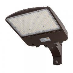 200W LED Parking Lot Light - Shoebox Area Light - 28000 Lumens - 400W MH Equivalent - 5000K - Pole/Post Fixed Mount