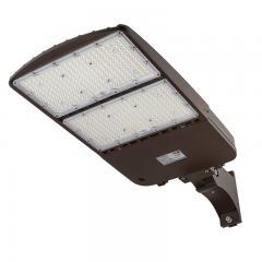 300W LED Parking Lot Light - Shoebox Area Light - 42000 Lumens - 1000W MH Equivalent - 5000K - Pole/Post Adjustable Mount