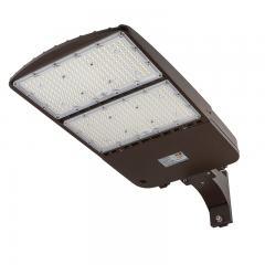 240W LED Parking Lot Light - Shoebox Area Light - 33600 Lumens - 750W MH Equivalent - 5000K - Pole/Post Fixed Mount
