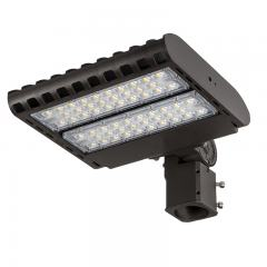 100W LED Parking Lot Light - 12,000 Lumens - 200-480V LED Shoebox Area Light - 250W Metal Halide Equivalent - 5000K/4000K/3000K