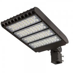 300W LED Parking Lot Light - 36,000 Lumens - 200-480V LED Shoebox Area Light - 1,000W Metal Halide Equivalent - 5000K/4000K/3000K
