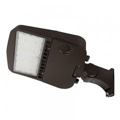 100W LED Parking Lot/Shoebox Area Light - 14,000 Lumens - 250W MH Equivalent - 5000K - Pole Knuckle Mount