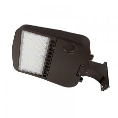 100W LED Parking Lot/Shoebox Area Light - 277-480 VAC - 14,000 Lumens - 250W MH Equivalent - 5000K - Pole Fixed Mount