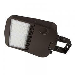 100W LED Parking Lot/Shoebox Area Light - 14,000 Lumens - 250W MH Equivalent - 4000K/5000K - Trunnion Wall/Surface Mount