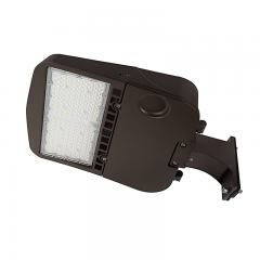150W LED Parking Lot/Shoebox Area Light - 277-480 VAC - 20,400 Lumens - 400W MH Equivalent - 5000K - Pole Fixed Mount