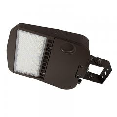150W LED Parking Lot/Shoebox Area Light - 277-480 VAC - 20,400 Lumens - 400W MH Equivalent - 4000K/5000K - Trunnion Wall/Surface Mount