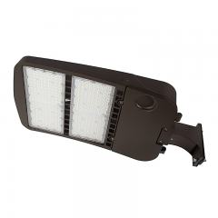 300W LED Parking Lot/Shoebox Area Light - 277-480 VAC - 40,700 Lumens - 1000W MH Equivalent - 5000K - Pole Fixed Mount