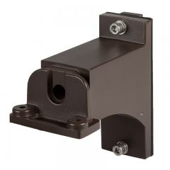 Square/Round Pole Mount with Fixed Arm for PLLD2 Parking Lot Lights