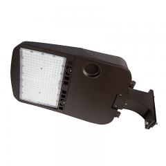 200W LED Parking Lot/Shoebox Area Light - 277-480 VAC - 26,900 Lumens - 750W MH Equivalent - 5000K - Pole Fixed Mount