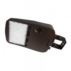 200W LED Parking Lot/Shoebox Area Light - 277-480 VAC - 26,900 Lumens - 750W MH Equivalent - 5000K - Trunnion Wall/Surface Mount