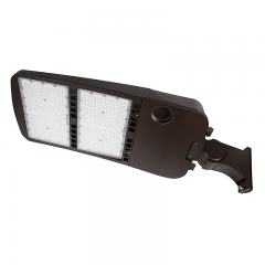 480W LED Parking Lot/Shoebox Area Light - 277-480 VAC - 67,000 Lumens - 2000W MH Equivalent - 4000K/5000K - Pole Knuckle Mount