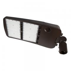 480W LED Parking Lot/Shoebox Area Light - 67,000 Lumens - 2000W MH Equivalent - 5000K - Knuckle Slipfitter Mount