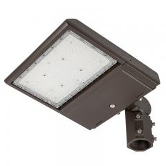 100W LED Area/Site Light - 14,500 Lumens - 250W MH Equivalent - 5000K - Knuckle Slipfitter Mount