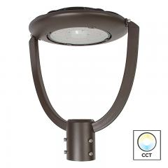 75W LED Post Top Light - 9,600 Lumens - Selectable Color Temperature - Optional Photocell Sensor - 250W MH Equivalent - 5000K/4000K/3000K