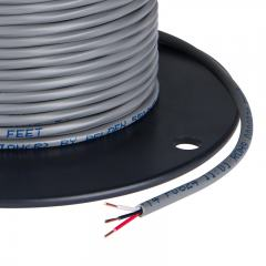 PVC Jacketed 22 Gauge Wire - Three Conductor Power Wire