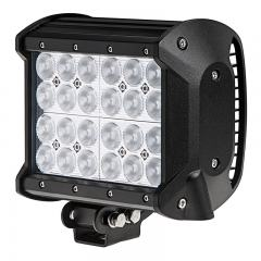 "6.5"" Quad-Row Off-Road LED Light Bar - 55W Flood Light- 5,040 Lumens"