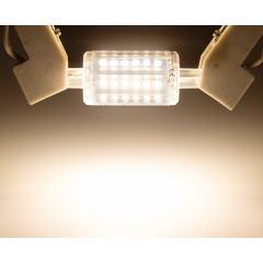 4W R7s LED Light Bulb - 450 Lumens - 35W Halogen Equivalent T3 Bulb - 78mm - J-Type Base - 4000K/2700K