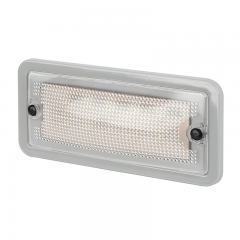 "6"" Rectangular LED Dome Light Fixture - 30 Watt Equivalent"