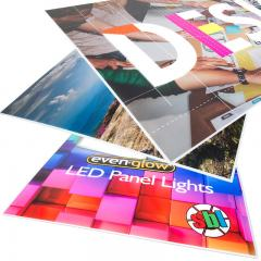 Replacement Custom Printed Diffuser for Non-Dimmable Even-Glow® LED Panel Lights - Custom LUXART® Print - 2' x 4'