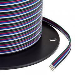 22 Gauge Wire - Five Conductor RGB+W Power Wire