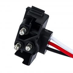 Right Angle 3-Pin Plug for Trailer Lights and Truck Lights
