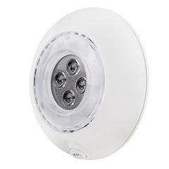 "5.5"" Round LED Dome Light Fixture - 25 Watt Equivalent"