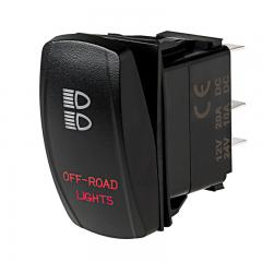 Weatherproof LED Rocker Switch - Off-Road Lights Switch