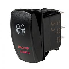 Weatherproof LED Rocker Switch - Backup Lights Switch