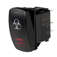 Weatherproof LED Rocker Switch - Zombie Lights Switch