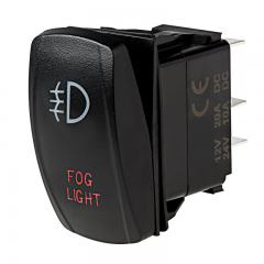 Weatherproof LED Rocker Switch - Fog Lights Switch