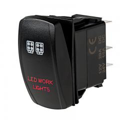 Weatherproof LED Rocker Switch - LED Work Lights Switch