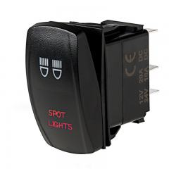 Weatherproof LED Rocker Switch - Spotlights Switch
