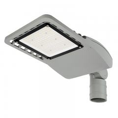 120W LED Street/Roadway Area Light - 16,250 Lumens - Optional Photocell Sensor - 250W MH Equivalent - 3000K/4000K - Knuckle Slipfitter Mount