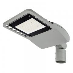 60W LED Street/Roadway Area Light - 8,800 Lumens - Optional Photocell Sensor - 175W MH Equivalent - 3000K/4000K - Knuckle Slipfitter Mount