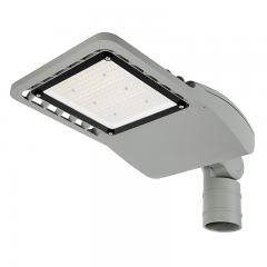 90W LED Street/Roadway Area Light - 12,500 Lumens - Optional Photocell Sensor - 250W MH Equivalent - 3000K/4000K - Knuckle Slipfitter Mount