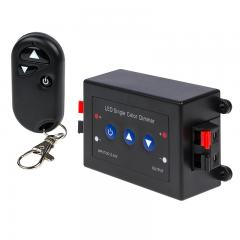 Single Color LED Dimmer - Wireless RF Remote - 8 Amps