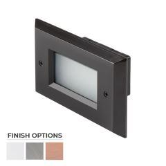 12V LED Step Light with Windowed Faceplate