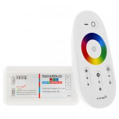 MiLight WiFi Smart RGB Controller with Touch Remote - 6 Amps/Channel