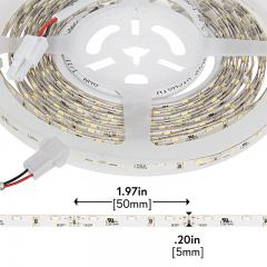 LED Strip Lights - 12V LED Tape Light w/ LC2 Connector - Side Emitting - 59 Lumens/ft.