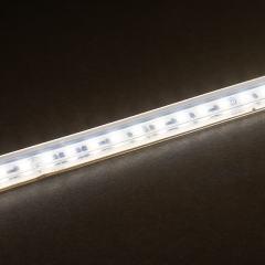 3' White LED Landscape Strip Light - 12 VAC - IP67 Waterproof - Warm White 3000K - 36in (3ft)