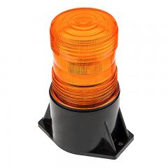 "5-1/2"" Amber LED Strobe Light Beacon - Single Flash Pattern"