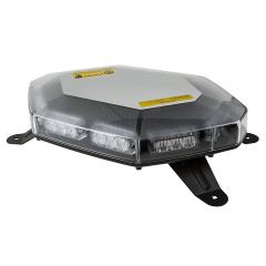 Mini Emergency LED Light Bar - Permanent Mount - 360 Degree Safety Strobe Light