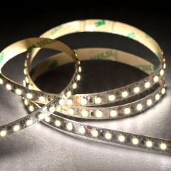 3528 White LED Strip Light - LED Tape Light w/ Plug-and-Play LC2 Connector - 24V - IP20 - 145 lm/ft